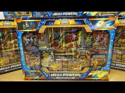 Opening 9 Pokemon Mega Powers Collection Boxes
