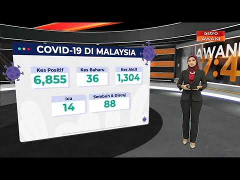 [INFOGRAFIK] Jumlah Kes COVID-19 Sebanyak 6,855 Kes Sehingga 15 Mei