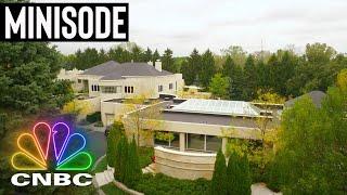 INSIDE MICHAEL JORDAN'S FORMER $14M MEGA-MANSION | Secret Lives Of The Super Rich