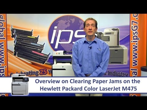 Repeat How to Clear Paper jam error in HP Laserjet pro