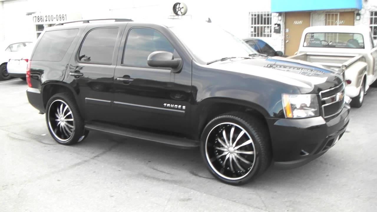 All Chevy 24 chevy rims : 877-544-8473 24 Inch Dcenti DW8 Black Wheels Chevy Tahoe Rims Free ...