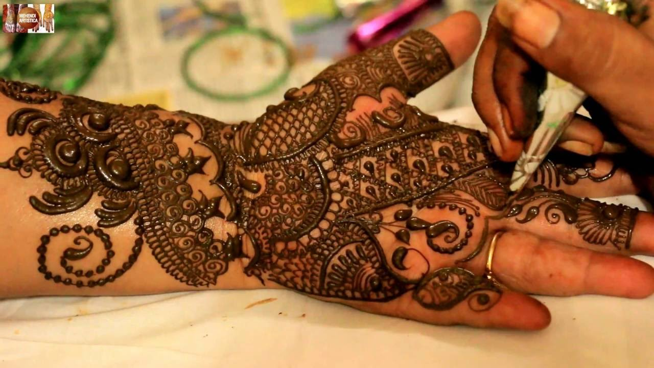 Incredible Mehendi Designs For Hands Learn Mehndi Art By Mehndiartistica Beautiful Collection