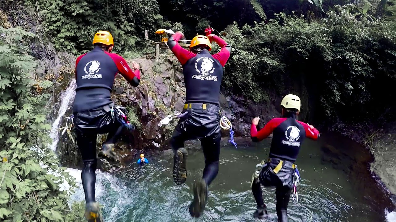 Adrenaline Rush Bali - Extreme Sport Canyoning