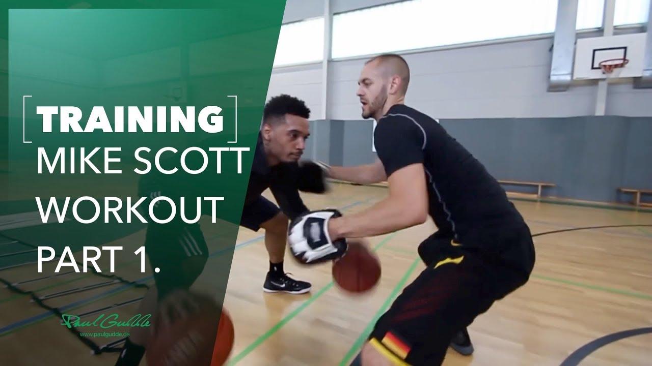 NBA Workout Mike Scott with Coach Paul Gudde - Treibe Sport