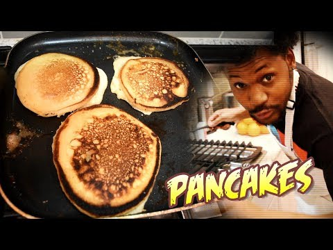PANCAKE BREAKFAST LIKE YA MOMMA USED TO MAKE | Cooking With