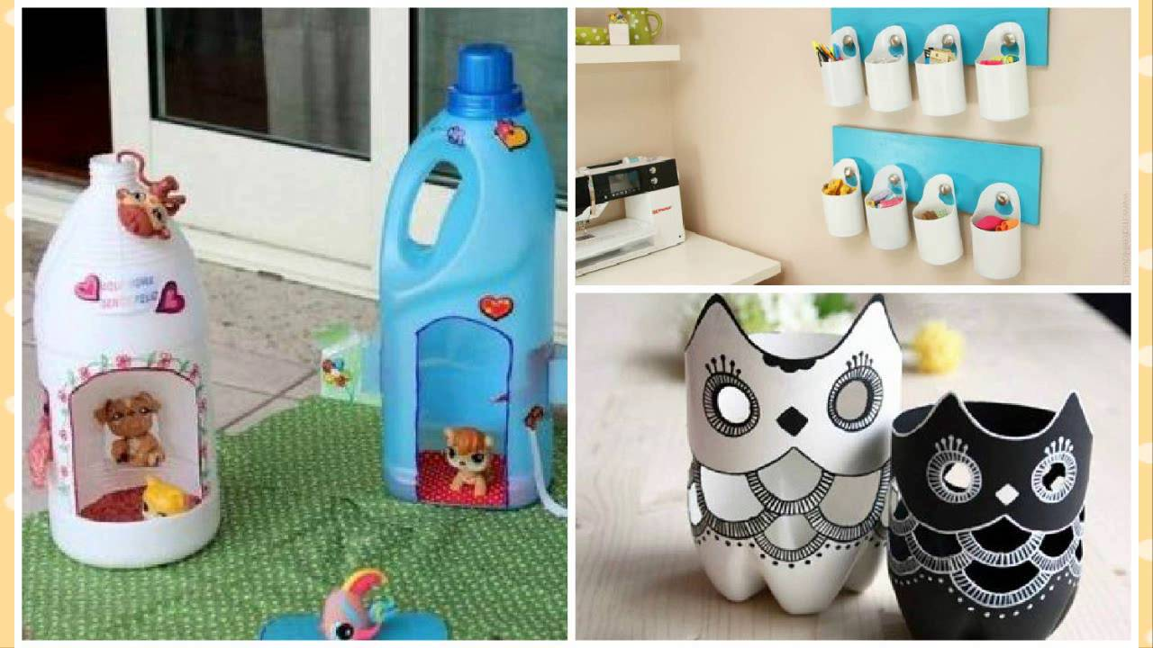 Ideas para reciclar botellas plasticas recycling plastic - Reciclar para decorar ...