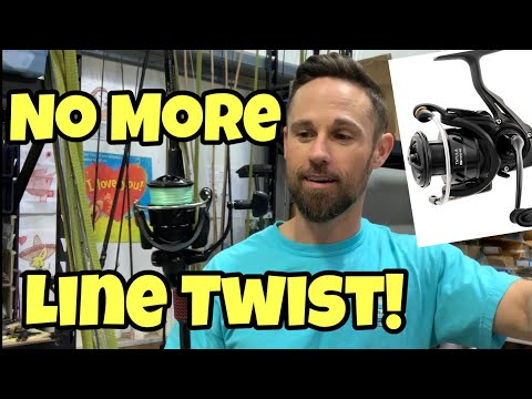 NO MORE LINE TWIST With Spinning Reels