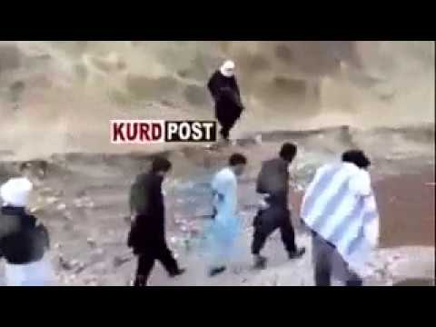 Tawanan ISIS melawan saat akan di eksekusi