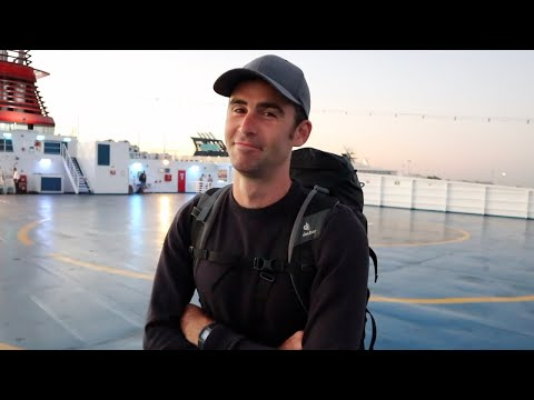 OVERNIGHT FERRY - Cheapest Way To Travel Greek Islands