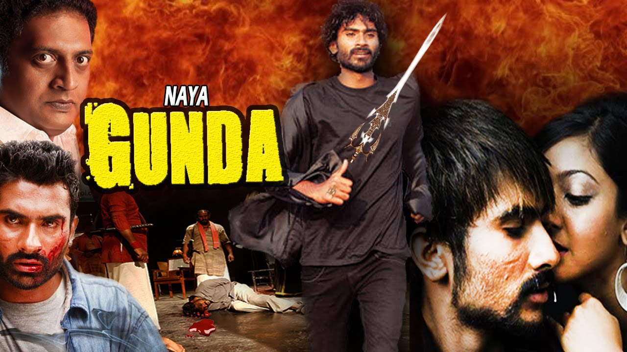Naya Gunda - Dubbed Hindi Movies 2016 Full Movie HD l Yogish, Aindhita Roy,  Prakash Raj