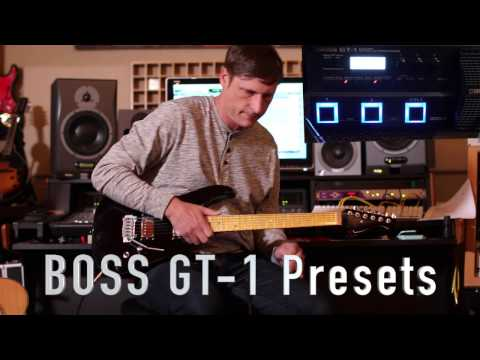BOSS GT-1 all presets back to back Part 1