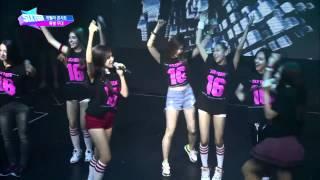 [SIXTEEN] SIXTEEN MEMBERS Performance _ HANDS UP (2PM) (Feat. Taecyeon) [Episode 7 Cut] [Live] [HD]