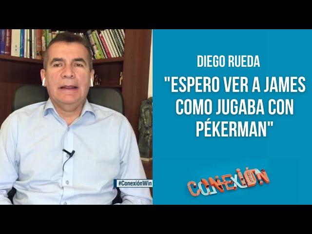 A James le daría libertad en el ataque y le pediría que ayude en la labor defensiva: Diego Rueda