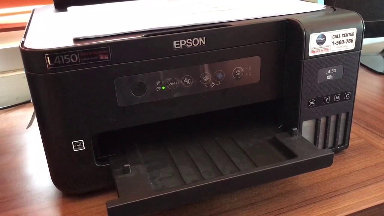 Instal Password Wifi Printer Epson L4150 Youtube
