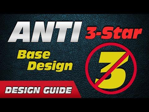 War Base Defense: ANTI-3-STAR BASE DESIGN