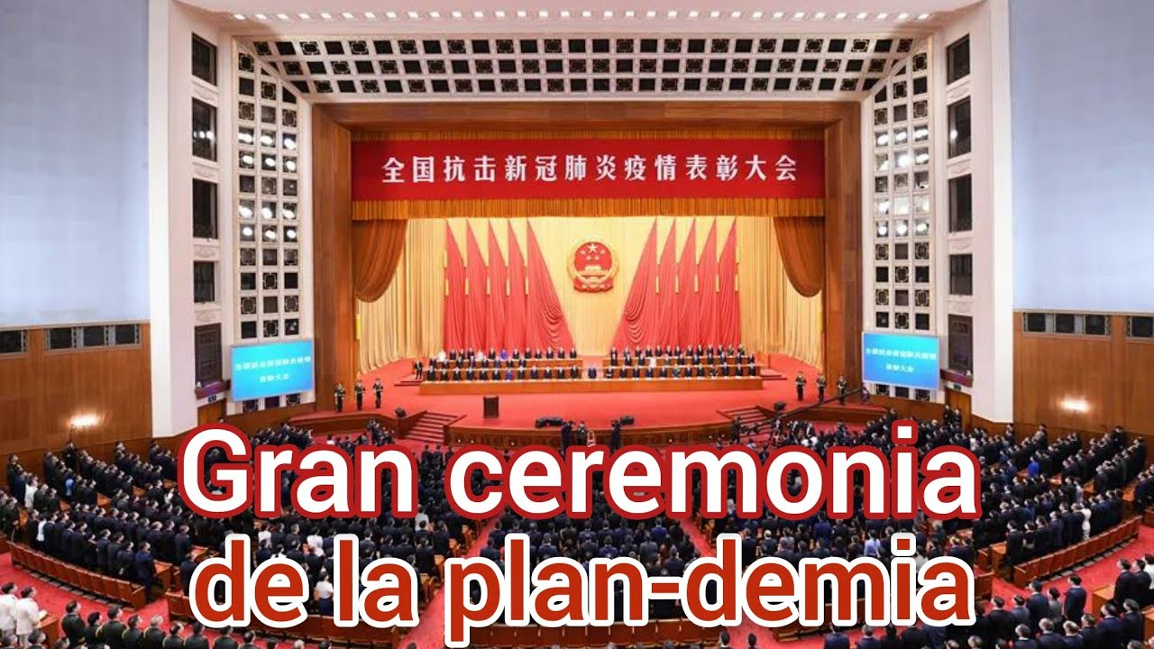 Gran ceremonia en Pekín, ya se acabó!