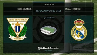 Calentamiento CD Leganés vs Real Madrid