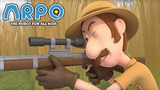 ARPO The Robot For All Kids - Duck Hunt | Compilation | Cartoon for Kids