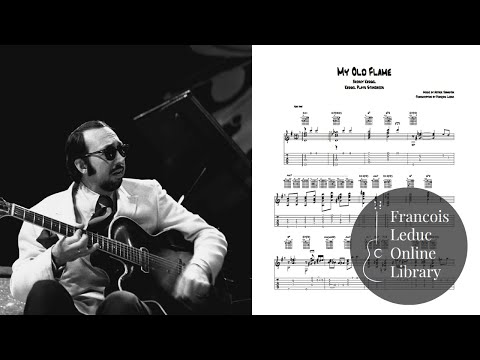 My Old Flame - Barney Kessel (Transcription)