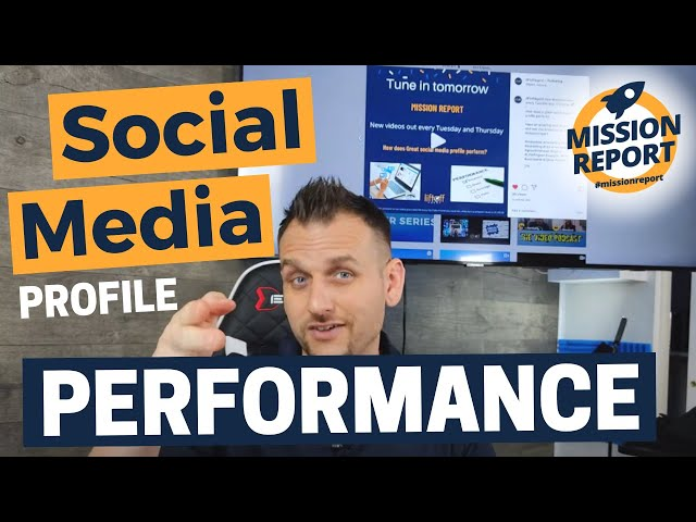 How does a great social media profile perform #missionreport