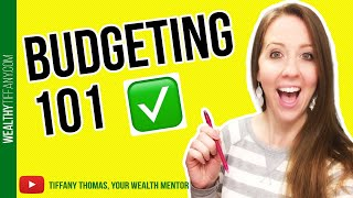 Budgeting for Beginners: How To Budget Your Money [My Exact Steps] ✅