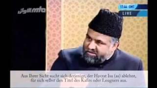 Sind alle, die Hazrat Mirza Ghulam Ahmad (as) ablehnen keine Muslime mehr?