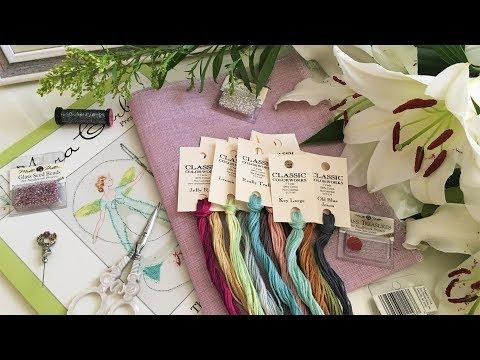 76. Вышивка крестом. Покупки в марте с 123stitch.com/The Silver Needle. Подарки.
