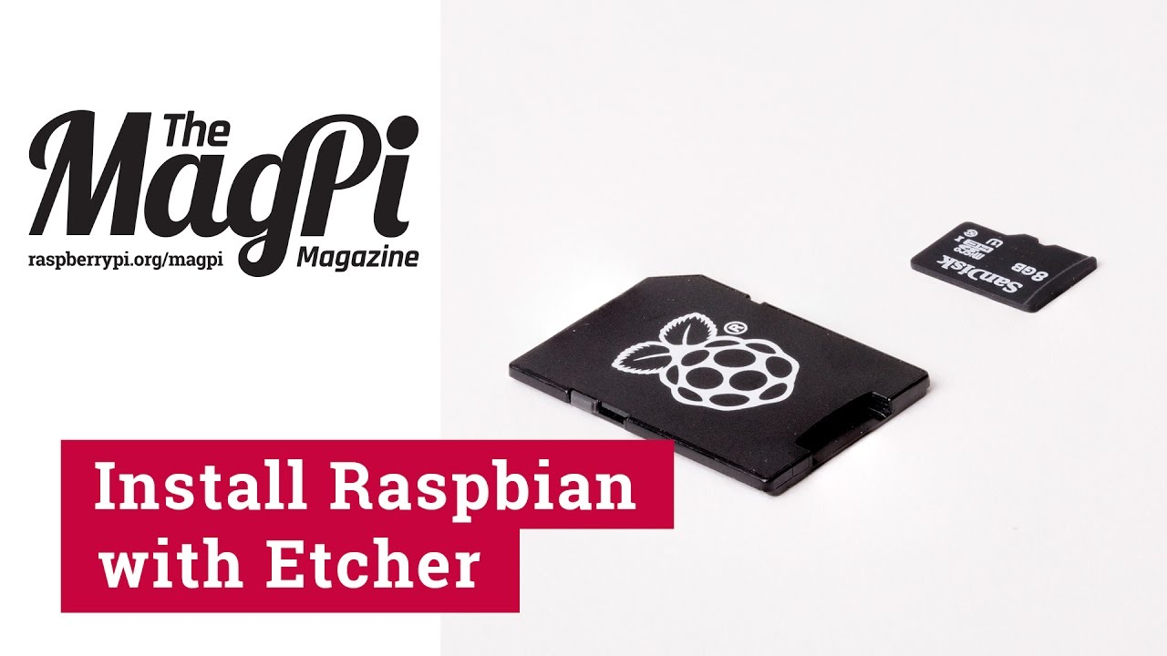 Use balenaEtcher to install operating systems onto an SD card for Raspberry  Pi