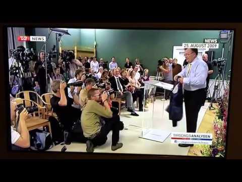 Claus Hjort Frederiksen sveder