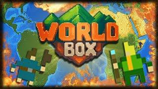 Gambar cover Recriando o MUNDO REAL com o MAPA-MÚNDI - Jogando Worldbox