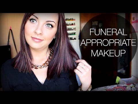 Going To A Funeral ♡ Appropriate Makeup