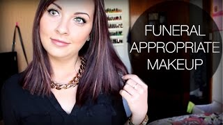 Going To A Funeral ♡ Appropriate Makeup & Hair Thumbnail