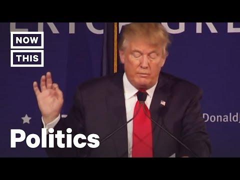 Trump's Disturbing History Of Anti Muslim Rhetoric   NowThis