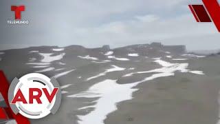 La Antártica: Alarmante temperatura tras calentamiento global | Al Rojo Vivo | Telemundo
