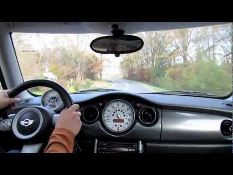 test drive the 2006 mini cooper s 6 spd start up exhaust and full tour youtube. Black Bedroom Furniture Sets. Home Design Ideas