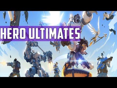 Overwatch: Hero Ultimates   Final 21 Heroes Ultimate Compilation HD