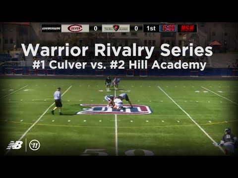 Hill Academy vs. Culver Academy Lacrosse