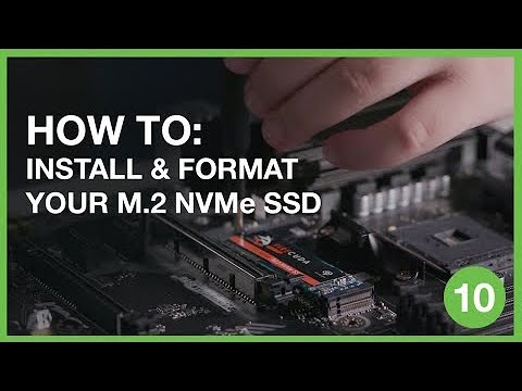 How to Install and Format Your M.2 NVMe SSD | Inside Gaming With Seagate