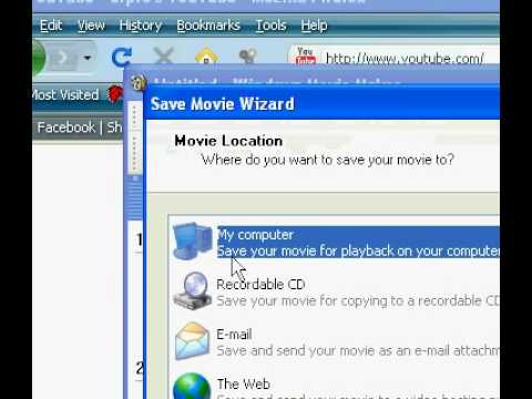 How To Publish Windows Movie Maker Files