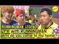 RUNNINGMAN THE LEGEND 2PM and Running Man, Keep your shoes! ENG SUB