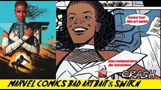 Marvel Does A Bait & Switch With The Cover To Shuri - Today's Theme Kids Is Comic Book Sisters