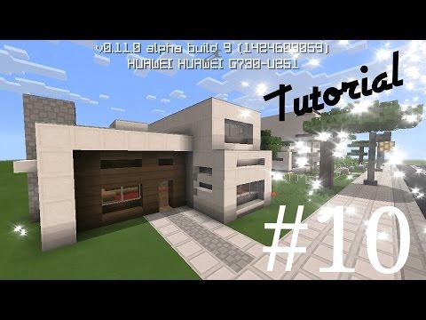 Como hacer una casa moderna de cuarzo 13x14 en minecraft for Casa moderna tutorial facil de hacer