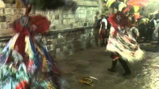 Carnaval Tlaxcala 2013 Desfile. Charros de Tepeyanco en el Palacio de Gobierno.