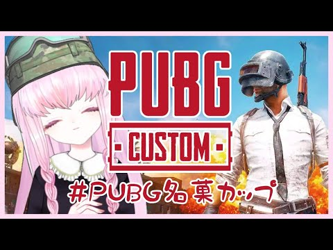 【#PUBGカスタム FPPソロ】第8回 #PUBG名菓カップ 【夢乃名菓の夢の中】 #Vtuber #PUBG