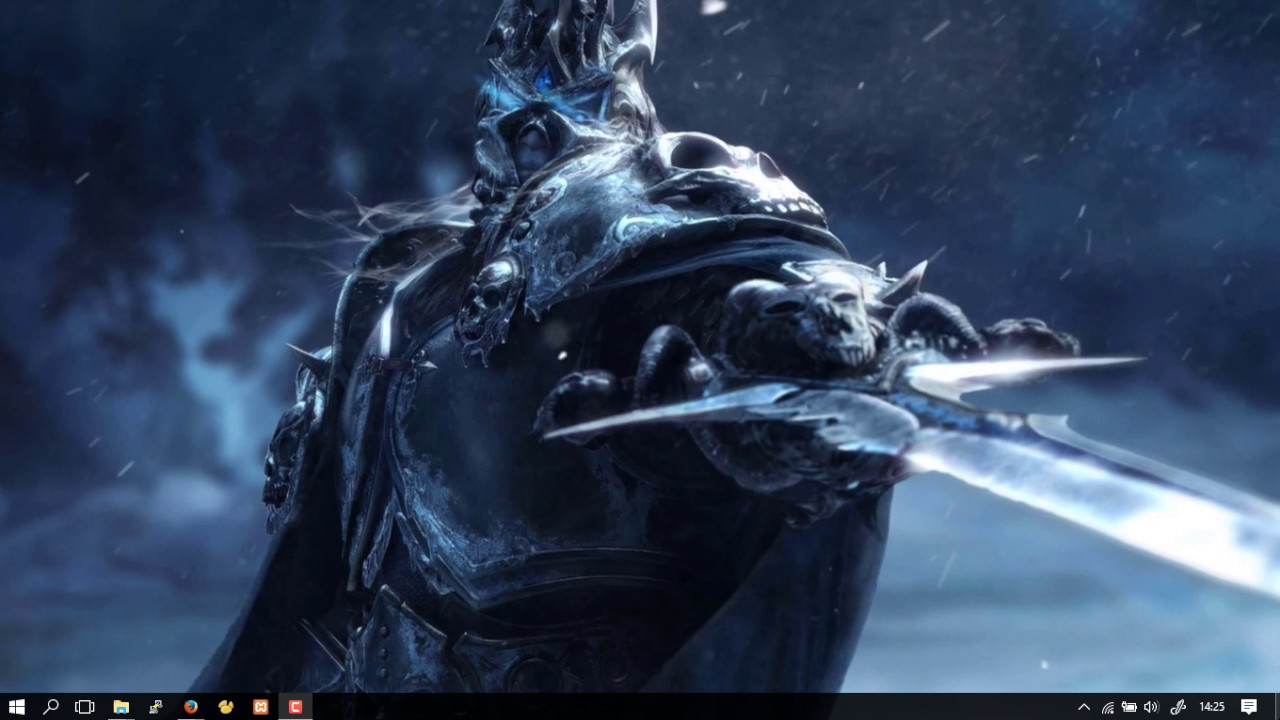 Wallpaper Engine Lich King - YouTube