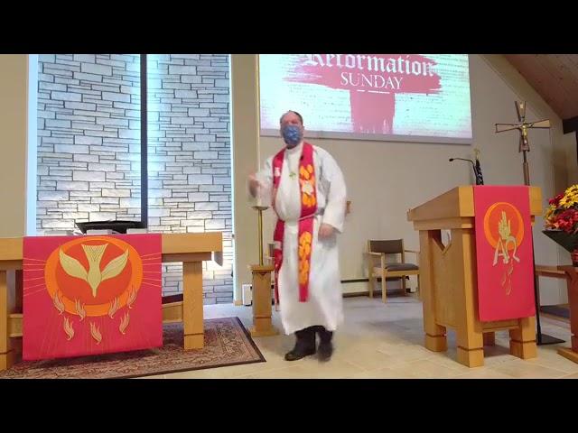 Reformation Sunday -- October 25, 2020