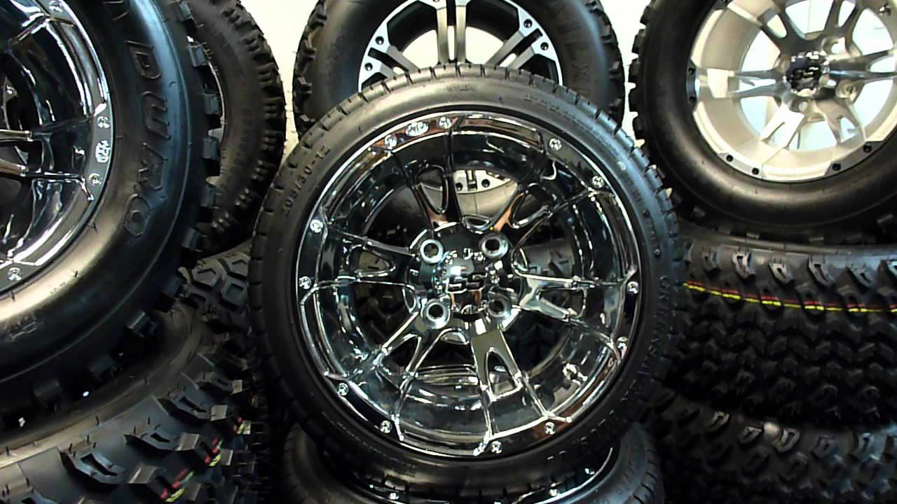 Club Car Wheels And Tires For Sale