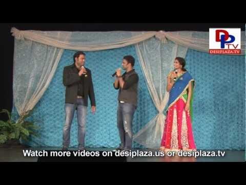 Ranina Reddy singing Rap and intro of singer Sagar at Magicmoments 2012