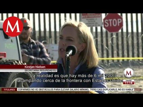 Kirstjen Nielsen: hemos identificado a 500 criminales en caravana
