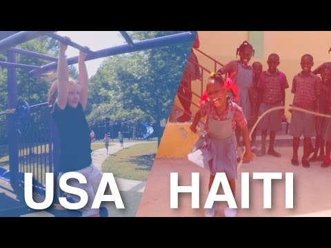 Haiti & USA - A Day in the Life